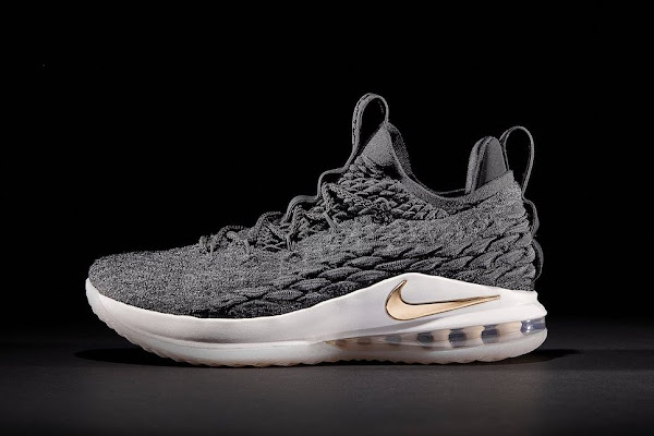 Release Reminder BlackGold  Ashes Nike LeBron 15 Lows