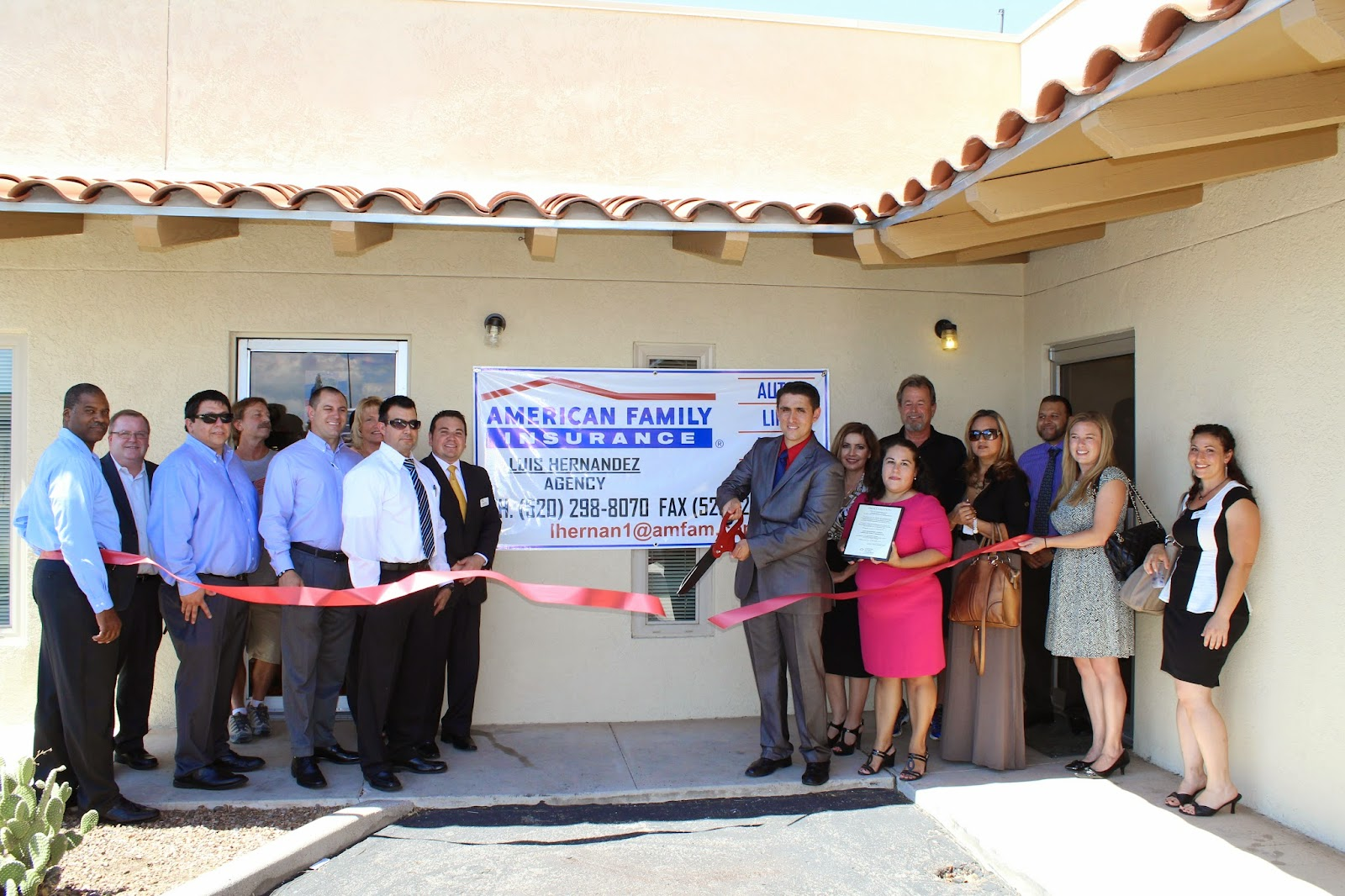 Luis Hernandez Agency, American Family Insurance - My Team is here to serve and help you with your Auto, Home, Life and Business insurance needs.  As residents of your community, we understand how important it is to be there for you, our trusted friends and neighbors.  Together, we are building strong partnerships that help everyone succeed.