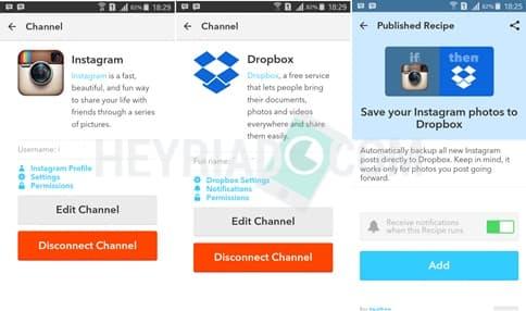 ke layanan cloud storage Dropbox bahwasanya sangat gampang Cara Backup Foto Instagram Otomatis ke Dropbox