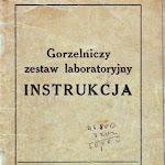 """""""Gorzelniczy zestaw laboratoryjny. Instrukcja"""", Ministerstwo Rolnictwa – Centralne Laboratorium Przemysłu Rolnego, Poznań 1957.jpg"""