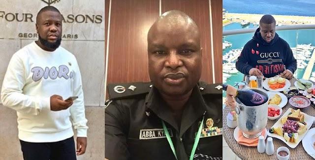 BREAKING! IGP Recommends The Immediate Suspension Of Abba Kyari Over Hushpuppi's Fraud Saga