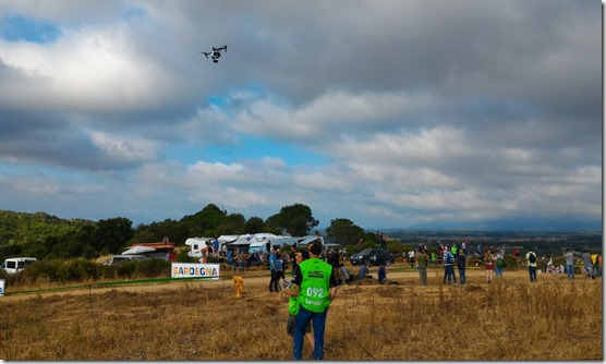 dji drone crew rally italia sardegna 7