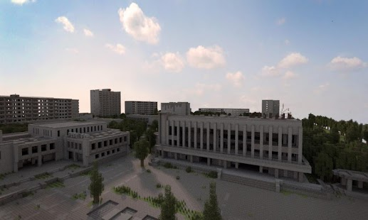 Chernobyl for Minecraft Map - náhled