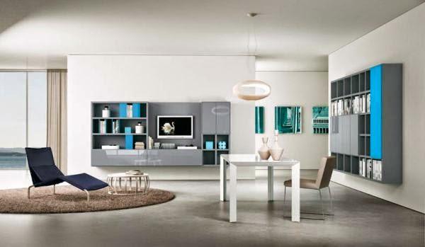 Model 7 desain ruang tamu rumah minimalis kontemporer 2015