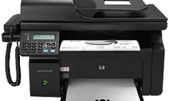 How to download HP LaserJet Pro M1214nfh printing device installer