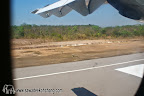Landing at Trat airport