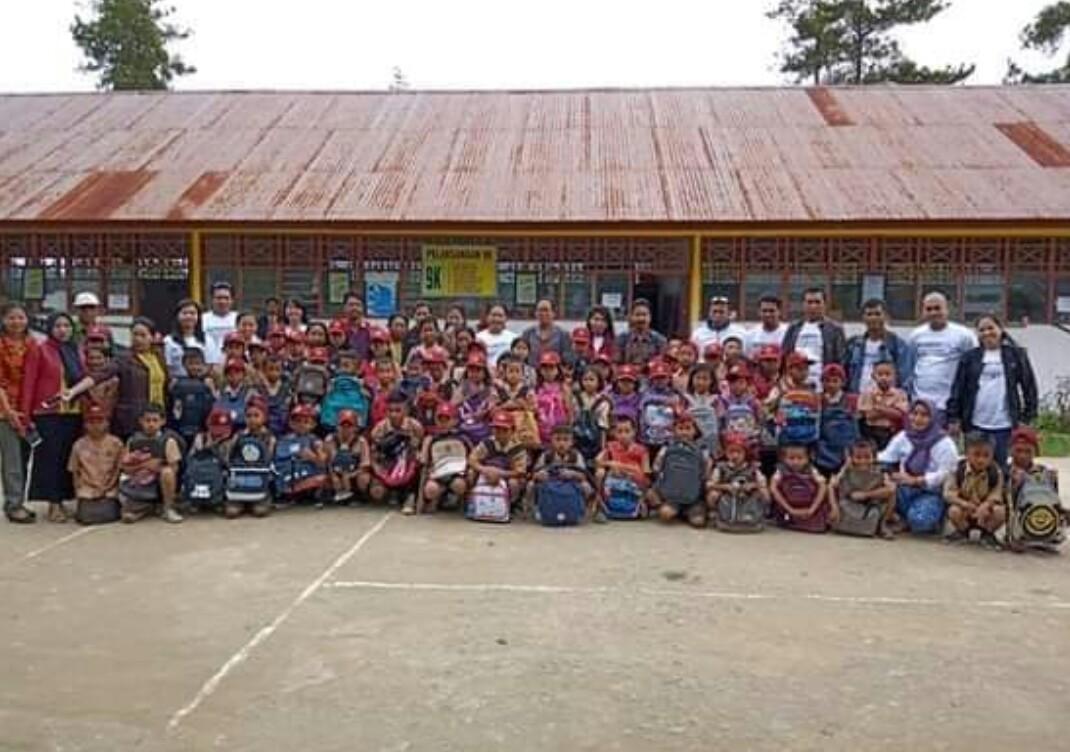 Peringati HANI 2019, BNNK Tana Toraja Berbagi Kasih dengan Anak-anak di Pedalaman Bittuang