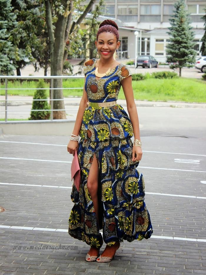 2f478c388 Latest Kitenge Dress Designs 2016 - Fashionte