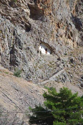 Près de l'ancien village d'Agia Roumeli (Αγ. Ρουμέλη).
