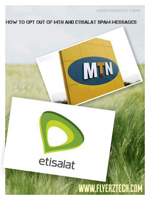 How to stop or opt out of MTN and Etisalat Spam Messages