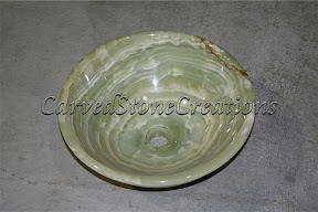 Onyx, Sink, Stone, Vessel