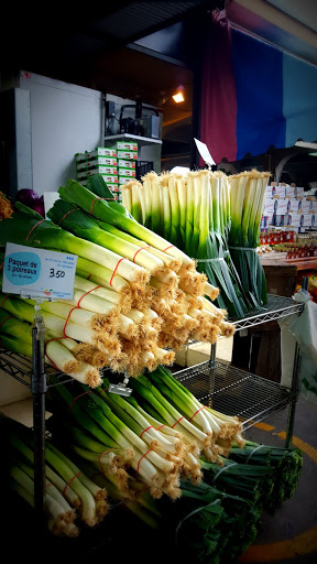 Fresh leeks! Made in Quebec: A Savory Stroll of the Marché Jean Talon