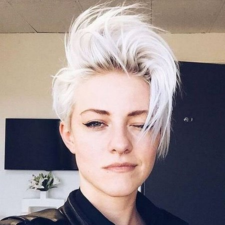 short white hairstyles ideas for women  fashionre