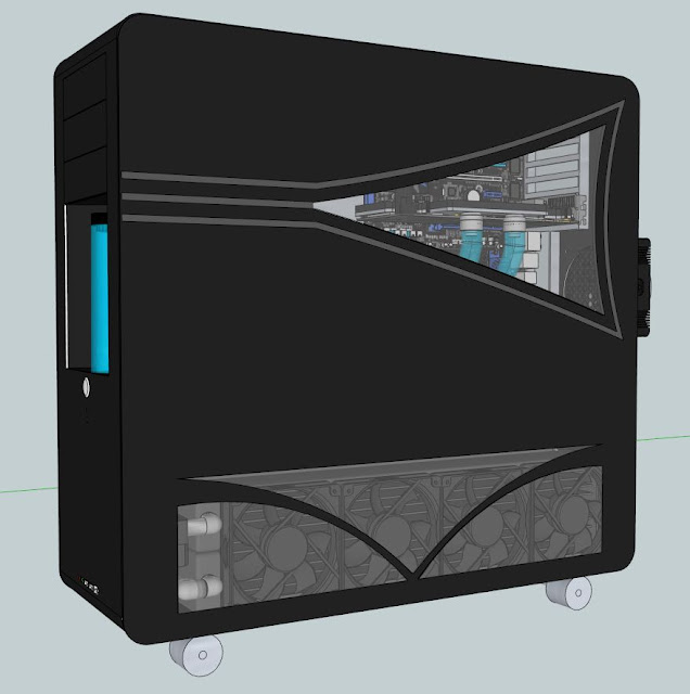 Case Window Sketchup - The Index