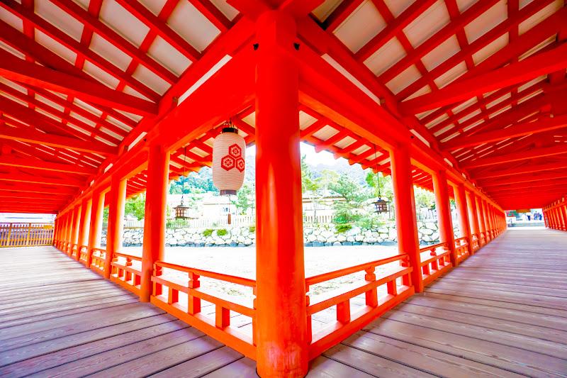 宮島 厳島神社 西回廊 出口1