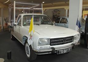 Peugeot 504 Popemobile