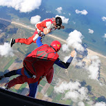 Texel Skydive in Holland in Texel, Noord Holland, Netherlands