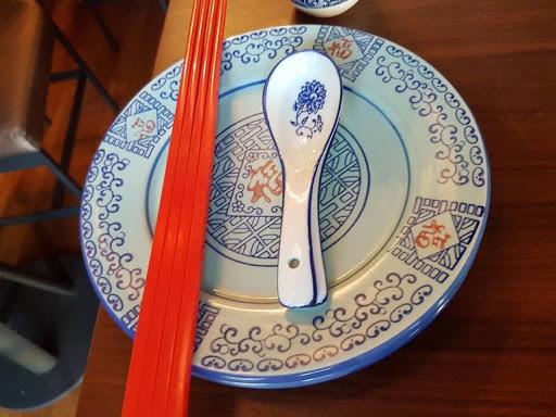 Blue china at Xiao Ya Tou Tanjong Pagar