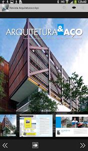 Revista Arquitetura & Aço screenshot 8