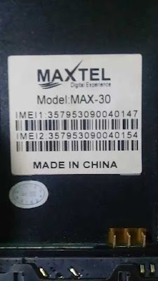 Maxtel Max-30 Flash File 100% Tested