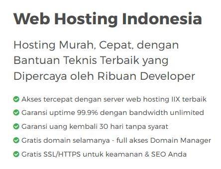 niagahoster paket webhosting indonesia fitur utama