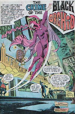 Nestor Redondo, Black Orchid, Phantom Stranger #32
