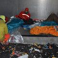 Priprema za noćenje na -10°C u carstvu smeća