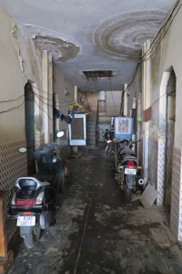 Inside Flat Hallway