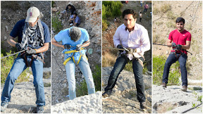 Rappelling - A challanging experience