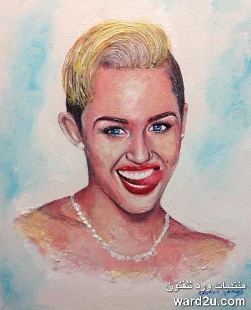 لوحات فنية بمعجون الاسنان