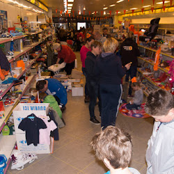 Rommelmarkt grotendeels binnen