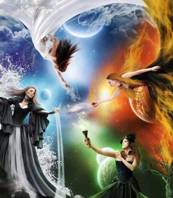 4 Elements, Magic Elements