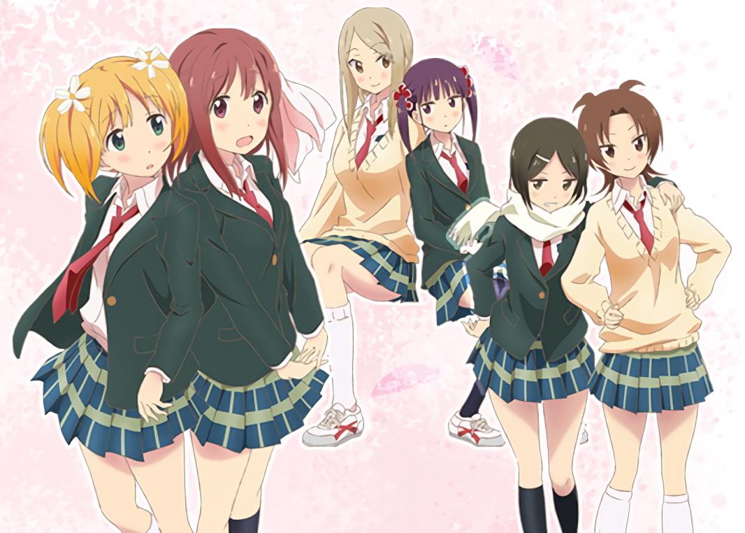 sakura trick characters