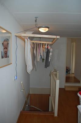 Joke freubelt wasrek boven trapgat for Trapgat maken