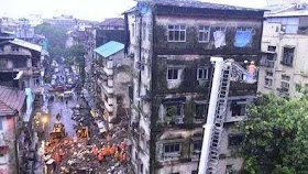 10 People Died In The Building Collapse Incident In Fort, Mumbai
