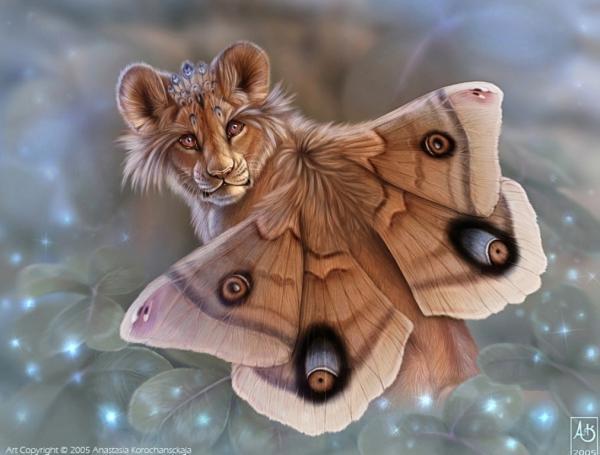 Flying Lion, Spirit Companion 4