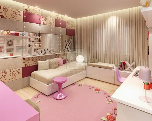 Art wall decor teenage girl bedroom wall designs for Teenage wall designs