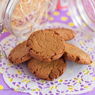 Crunchy Ginger Cookies Recipe