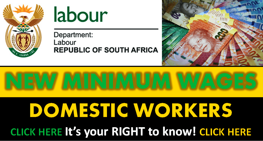 MINIMUM WAGES - DOMESTIC WORKERS