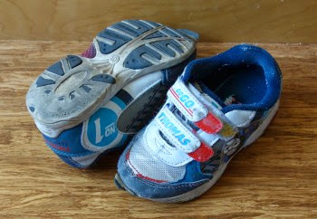kids are really hard on shoes USDA estimate cost to raise a kid