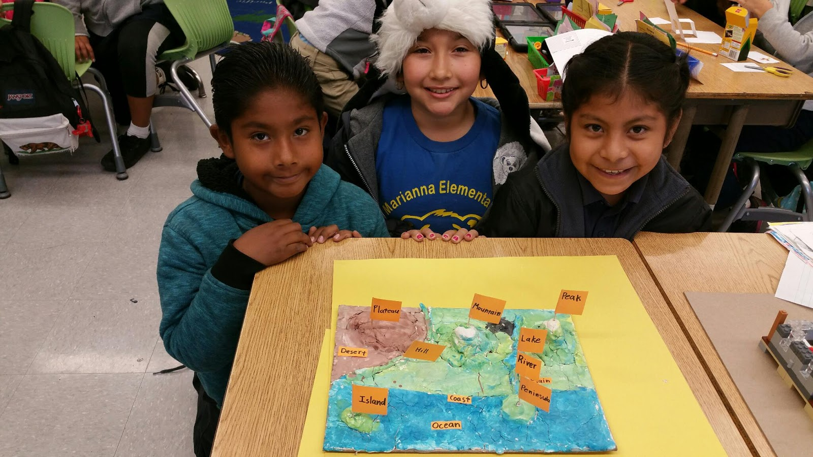 Mr Munoz S 3rd Grade Blog Geography Project 3d Landform