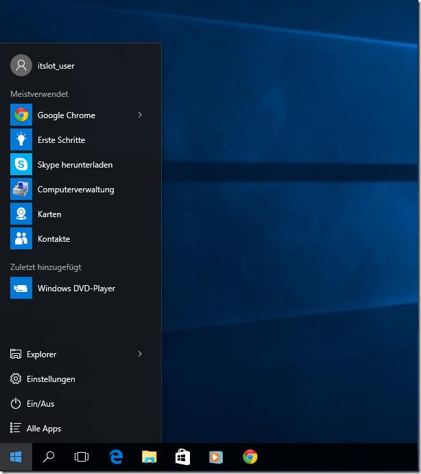 Windows 10: Kacheln entfernen. Startmenü ohne Kacheln ...