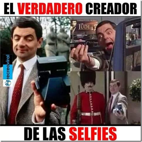 el verdadero creador de las selfies