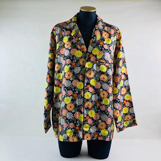6397 NEW Silk Pajama Shirt