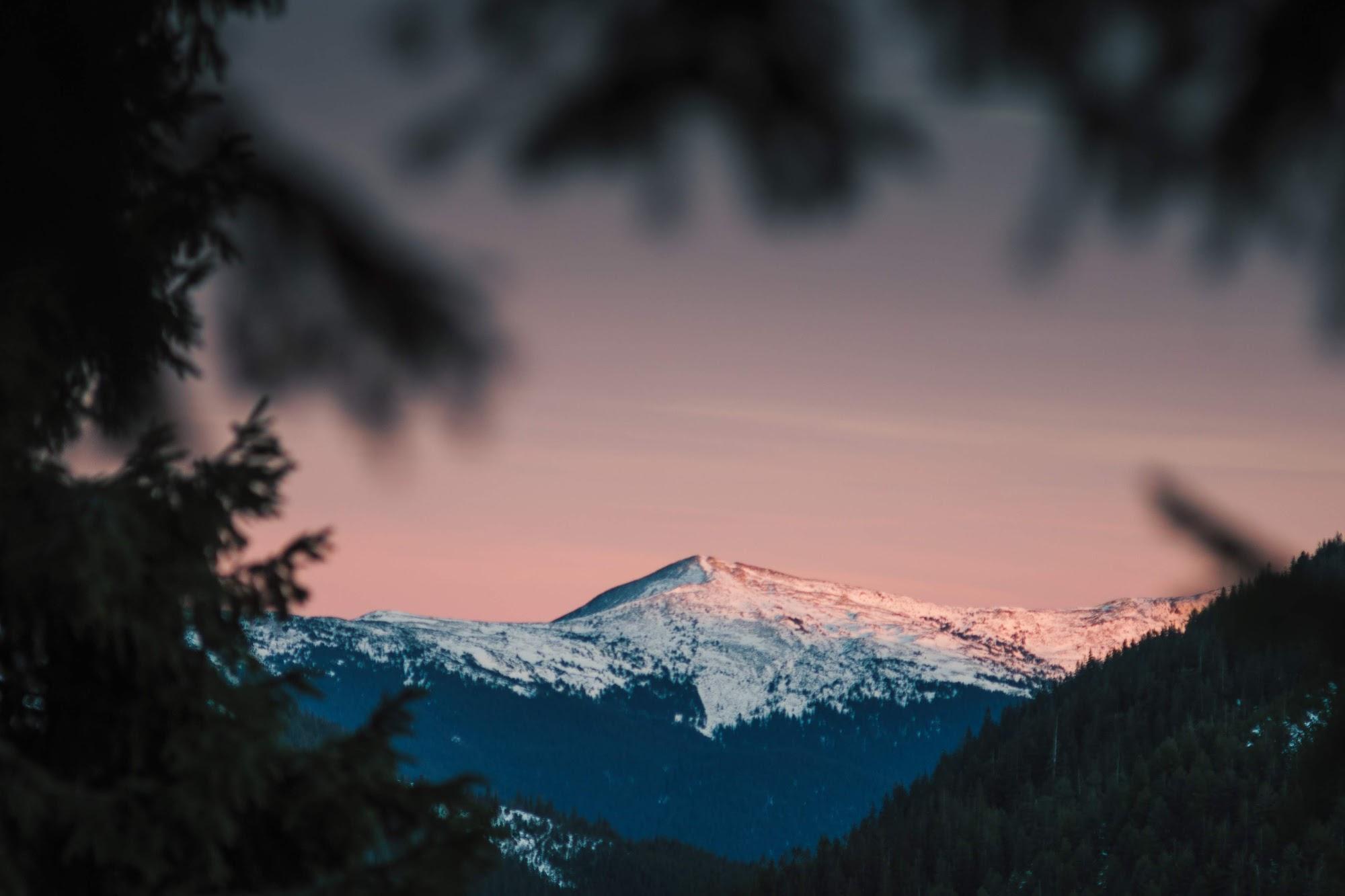 якась гора
