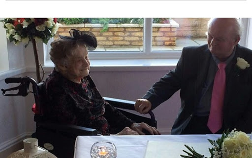 WOW! 100-year-old woman marries the love of her life
