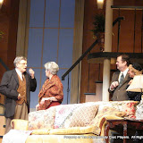 Richard Harte, Joanne Westervelt, Richard Michael Roe and Patricia Hoffman in THE ROYAL FAMILY (R) - December 2011.  Property of The Schenectady Civic Players Theater Archive.
