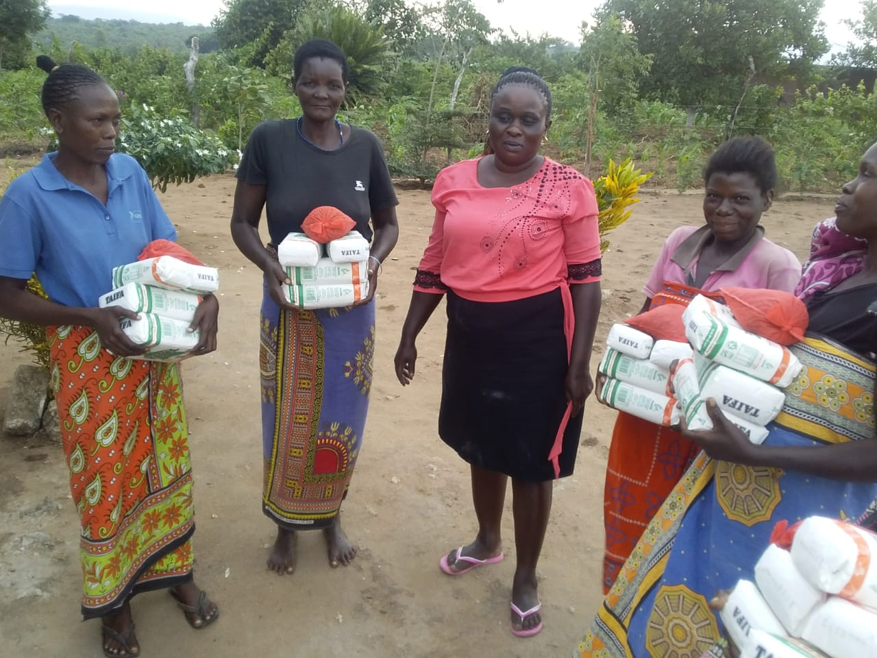 Aisha Jumwa relief food distribution in her wards and locations