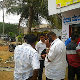 My Brother Vikram Campaiging in Hunsur