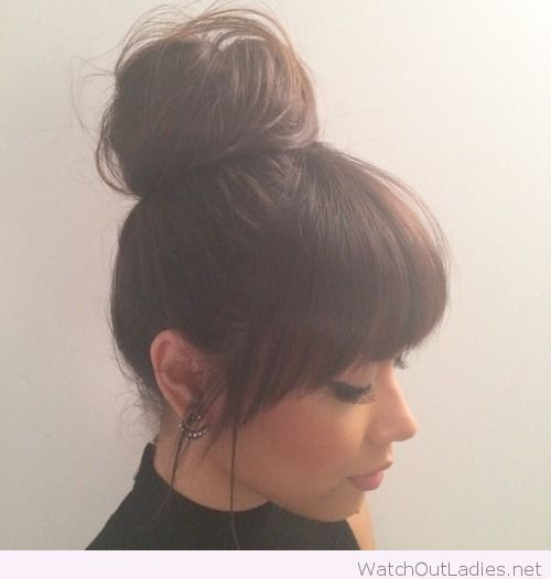 Short Hair With Bangs 2018 For Teens 1
